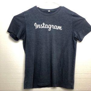 Instagram Marled Blue Men's Tee-Shirt Size Large